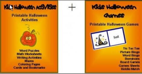 Halloween Activities For Kids Package